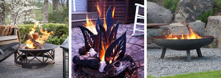 Using fire features in Landscape Design